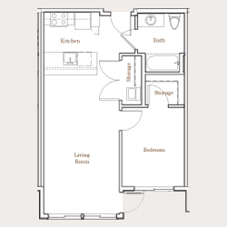 B1-1bed