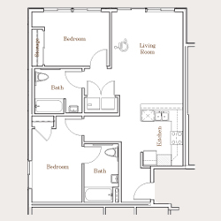 C3-BF-2bed